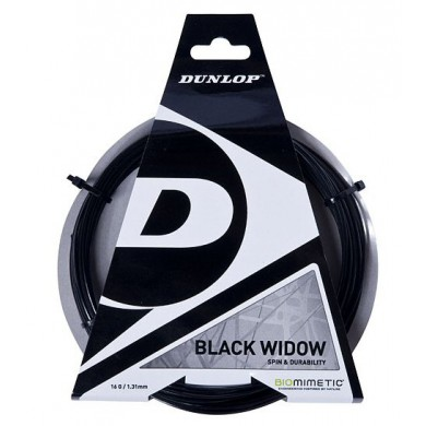 Besaitung mit Dunlop Black Widow