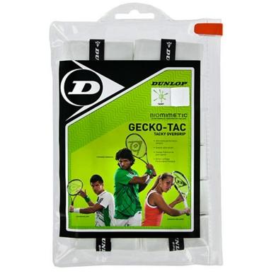 Dunlop Gecko Tac Overgrip 12er weiss