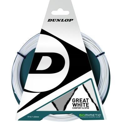 Dunlop Great White weiss Squashsaite