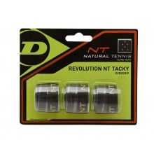 Dunlop Overgrip Revolution NT Tacky 0.5mm schwarz 3er