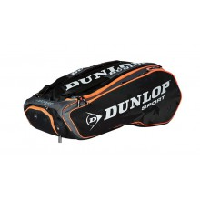 Dunlop Racketbag Performance 2015 schwarz/orange 12er