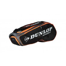 Dunlop Racketbag Performance 2015 schwarz/orange 8er
