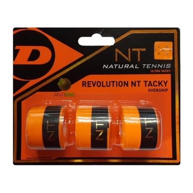 Dunlop Revolution NT Tacky Overgrip 3er orange