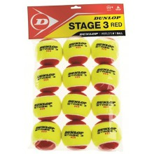 Dunlop Stage 3 Methodikbälle 12er