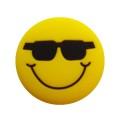 Dunlop Schwingungsdämpfer Smiley Sonnenbrille gelb 1er