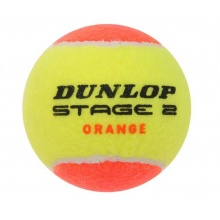 Dunlop Stage 2 gelb/orange Methodikbälle 60er im Eimer