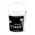 Dunlop Stage 1 gelb Methodikbälle 60er im Eimer