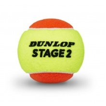Dunlop Stage 2 Methodikbälle 3er
