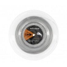 Dunlop Tennissaite Explosive (Haltbarkeit) silber 200m Rolle