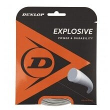 Dunlop Tennissaite Explosive (Haltbarkeit) silber 12m Set