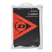 Dunlop Overgrip U-Sweat schwarz 12er Clip-Beutel
