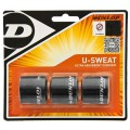 Dunlop U Sweat Overgrip 3er schwarz