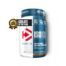 Dymatize Iso100 Hydrolyzed Isolat Protein Pulver Gourmet Schokolade 900g Dose