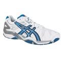 Asics Gel Resolution 5 weiss/blau Tennisschuhe Herren (Größe 46+46,5)