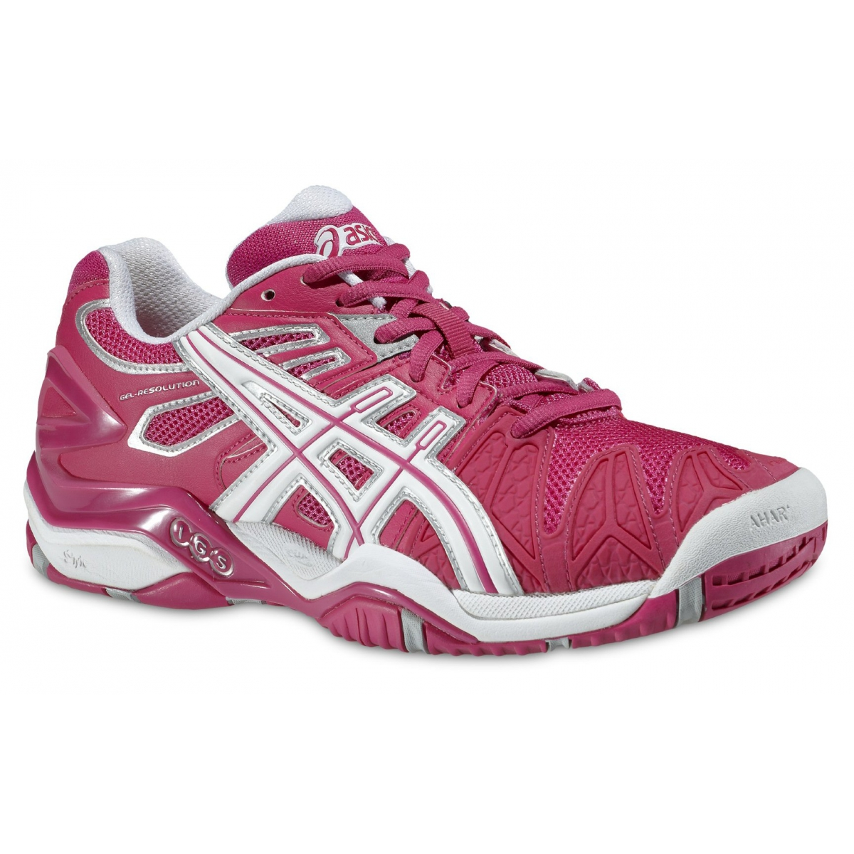 Asics Gel Resolution 5 fuchsia Tennisschuhe Damen Xdg539