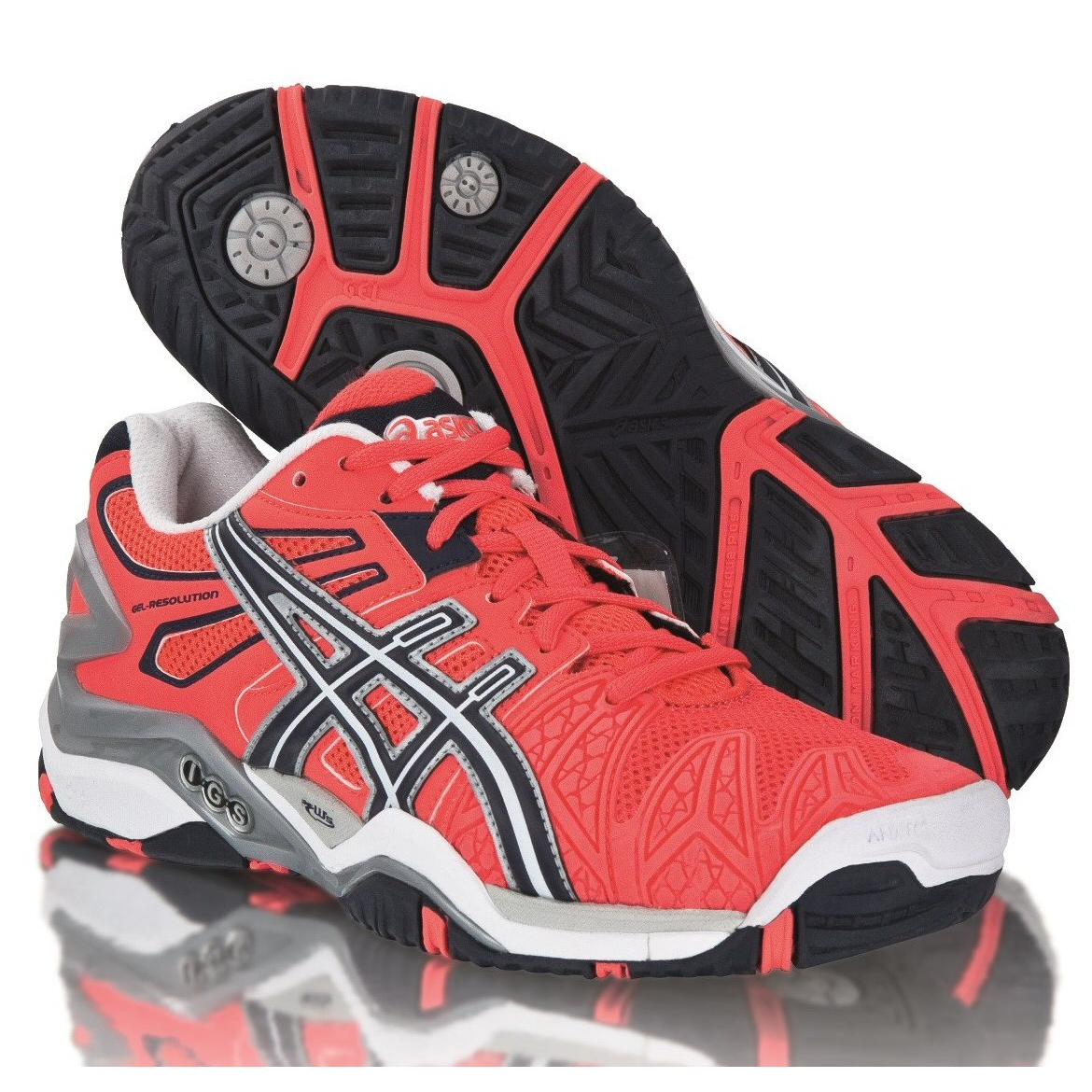 asics gel resolution 5 divapink tennisschuhe damen online bestellen. Black Bedroom Furniture Sets. Home Design Ideas