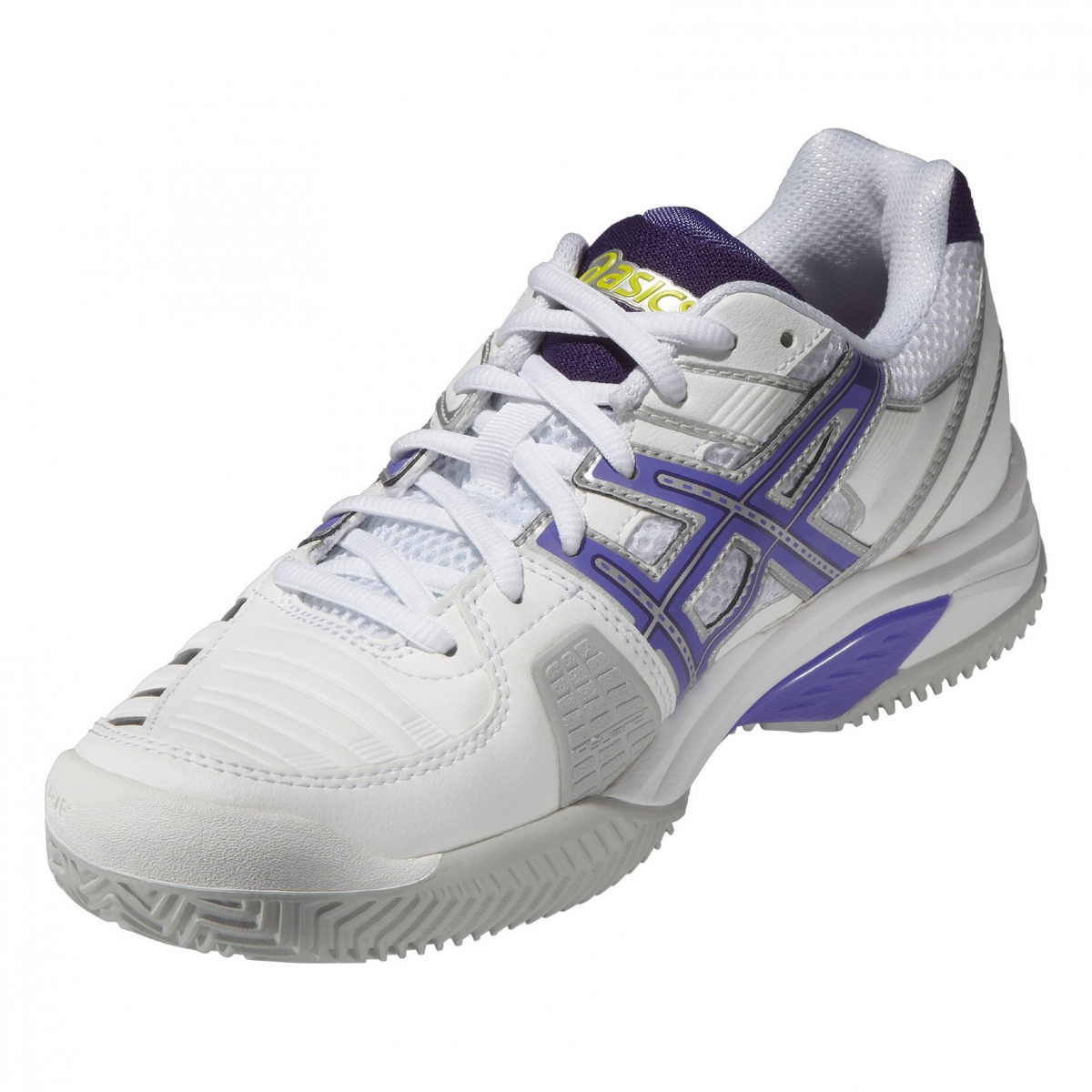 asics gel challenger 9 clay weiss purple tennisschuhe damen online bestellen. Black Bedroom Furniture Sets. Home Design Ideas
