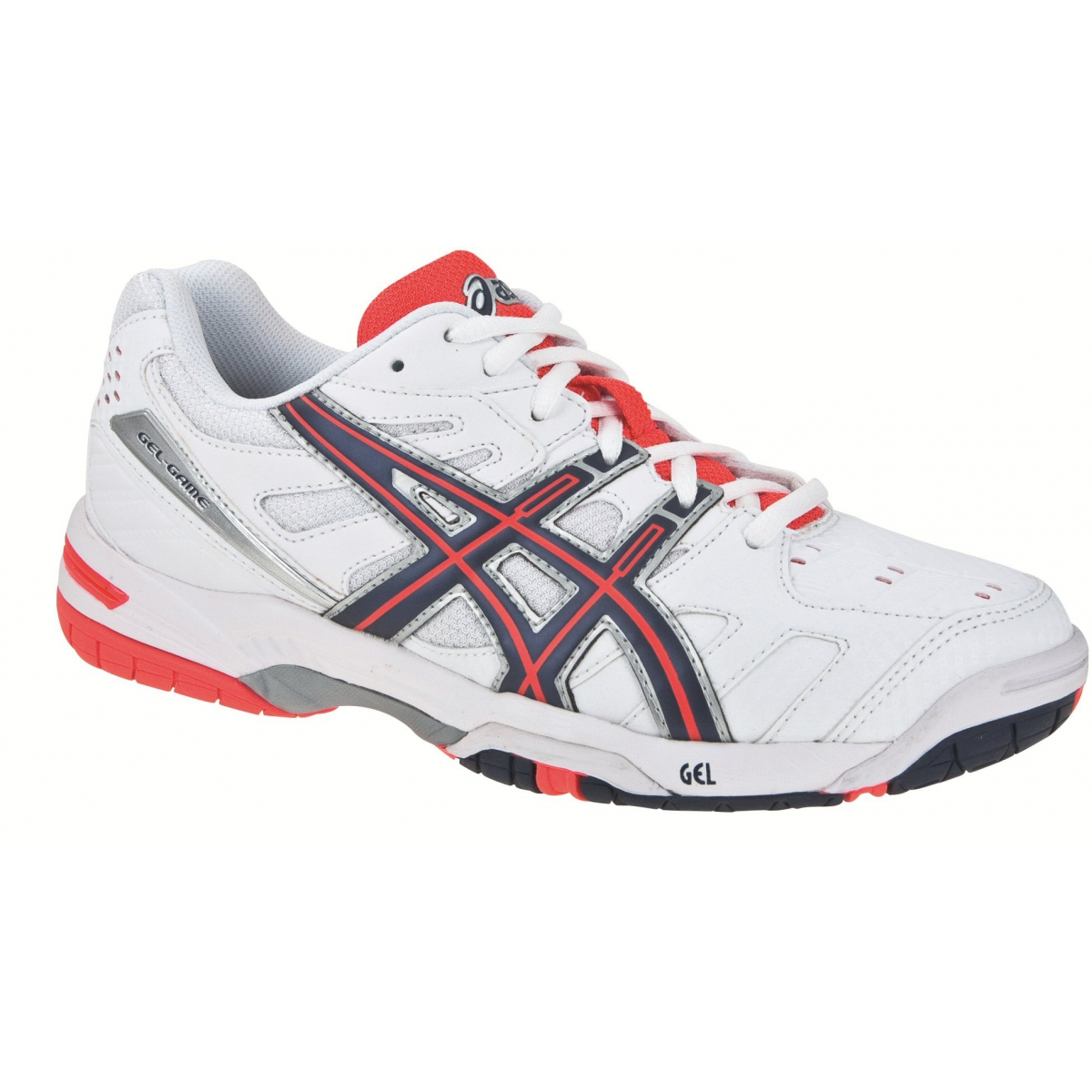 fashion style united states new lower prices Asics Gel Game 4 weiss/rot Tennisschuhe Damen