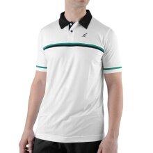 Australian Polo DC Stripe weiss/grün Herren