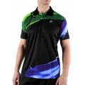 Australian Polo Diagonal schwarz/grün Herren