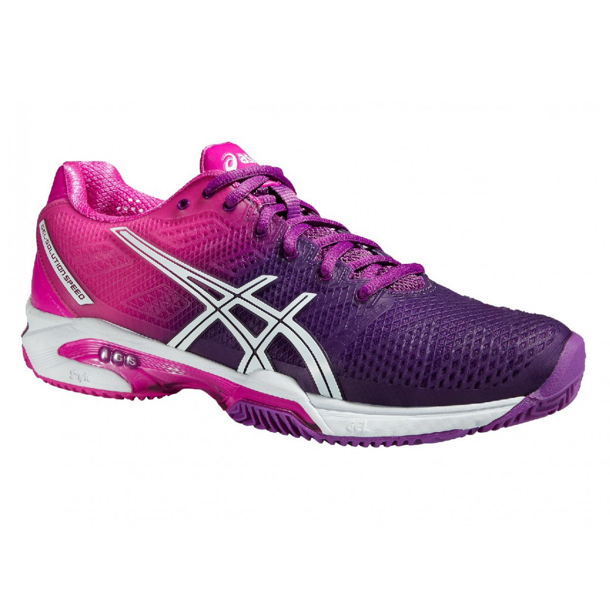 asics gel solution speed 2 clay 2015 hotpink tennisschuhe damen versandkostenfrei online bestellen. Black Bedroom Furniture Sets. Home Design Ideas