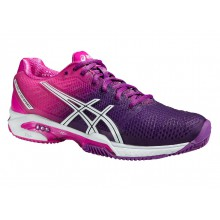 Asics Gel Solution Speed 2 Clay 2015 hotpink Tennisschuhe Damen