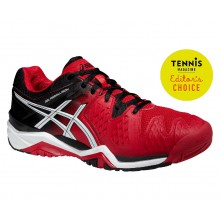 Asics Gel Resolution 6 2015 rot Tennisschuhe Herren