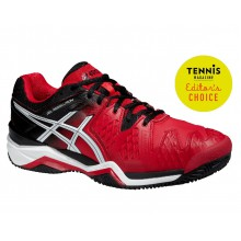 Asics Gel Resolution 6 Clay 2015 rot Tennisschuhe Herren