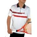 Australian Polo Zip Stripe Herren (Größe L)