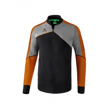 Erima Jacke Premium One 2.0 2018 schwarz/grau/orange Boys