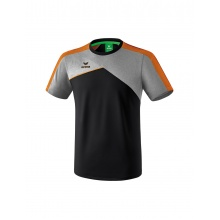 Erima Tshirt Premium One 2.0 2018 schwarz/grau/orange Boys