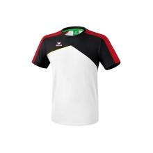 Erima Tshirt Premium One 2.0 2018 weiss/schwarz/rot/gelb Boys