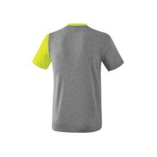 Erima Tshirt 5-C 2019 grau/grün/schwarz Herren