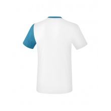 Erima Tshirt 5-C 2019 weiss/hellblau Herren