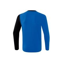 Erima Langarmshirt 5-C 2019 blau/schwarz/weiss Herren