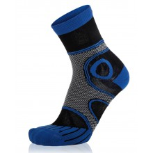 EightSox Laufsocke Advanced Long blau Herren