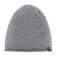 Eisbär Mütze (Beanie) Merinowolle Oversize Pulse grau Herren