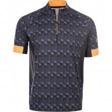 Endurance Fahrrad Tshirt Jens mit 3/4 Reissverschluss schwarz Herren