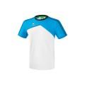 Erima Tshirt Premium One 2.0 2018 weiss/hellblau/schwarz Herren