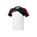 Erima Tshirt Premium One 2.0 2018 weiss/schwarz/rot Herren