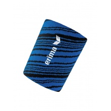 Erima Schweissband blau/schwarz 2er