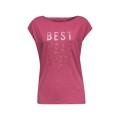 Esprit Shirt Best Year Ever Print magenta Damen