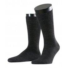 Esprit Tagessocken Crew Basic Wool (Schurwolle) anthrazit Herren - 2 Paar