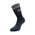 Fila Tennissocke Stripes Herren - 83% Baumwolle - navyblau - 1 Paar