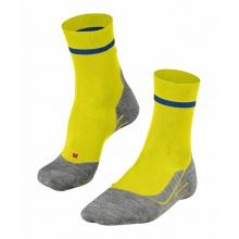 Falke Laufsocke RU4 (mittelstarke Polsterung) gelb/blau Herren - 1 Paar