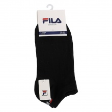 Fila Sportsocken Invisible schwarz 3er Damen