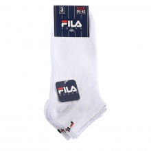 Fila Sportsocken Invisible weiss 3er Damen