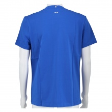 Fila Tshirt Ricki Logo (Baumwolle) royalblau Herren