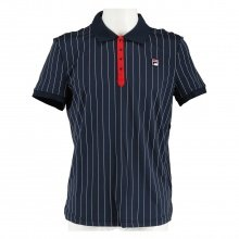 Fila Polo Stripes navy/weiss/rot Herren