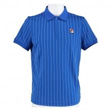 Fila Tennis-Polo Stripes royalblau/weiss Herren